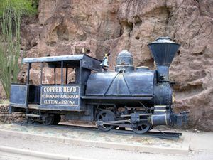 Copper Head Coronado Railroad, Clifton, Arizona