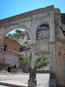 Building Ruins, Clifton, Arizona by Kathy Weiser