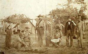 Confederate soldiers in Pensacola, Florida
