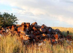 Conscience Rock Pile in the Petrified Forest