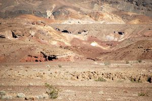 Caves & Tunnels dot the landscape of Death Valley by Kathy Weiser- Alexander, February, 2015.
