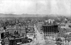 Denver, Colorado in 1896