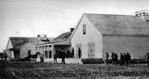 Drum Barracks, 1850s
