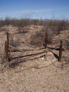 Fairbank, Arizona cemetery by Kathy Alexander.