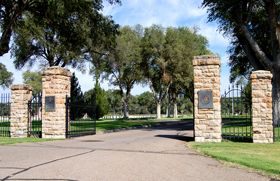 Fort Lyon, Colorado National Cemetery by Kathy Weiser.