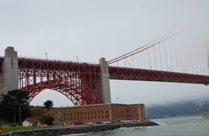 Fort Point and Golden Gate, California by Carol Highsmith