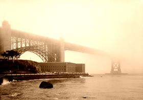 Fort Point and Golden Gate, California