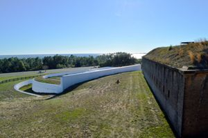 Bateria San Antonio at Fort Barrancas, by Kathy Weiser