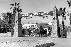 Vintage Furnace Creek Camp, Death Valley, California