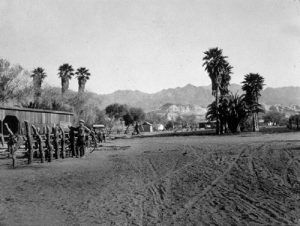 Furnace Creek Ranch in its early days, Death Valley, California