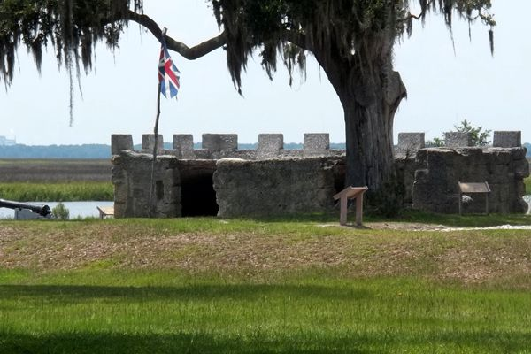 Fort Frederica today, courtesy Wikipedia