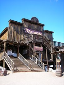 Mammoth Saloon, Goldfield, Arizona