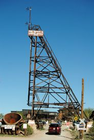 Goldfield, Arizona head frame