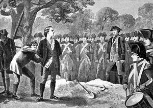 Hanging of Nathan Hale