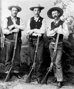 Members of the posse who caught up with four outlaw members of the Hashknife Outfit.