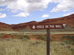 Hole-in-the-Wall, Wyoming