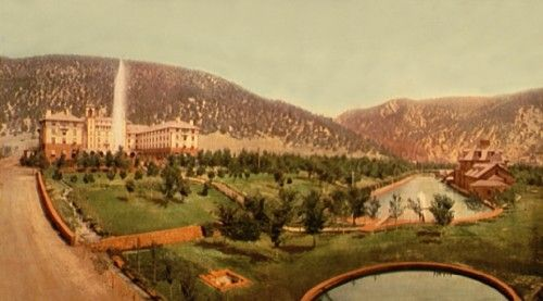 Hotel Colorado, Glenwood Springs, Colorado, 1899