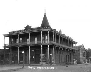 Hotel Weatherford, Flagstaff, Arizona