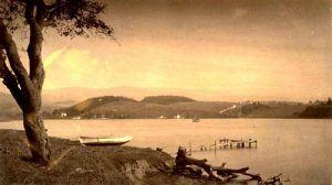 Lake Merritt, California, from Adams Point, 1884