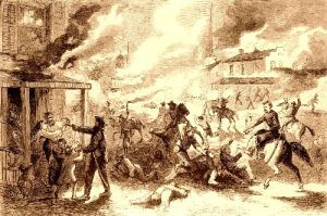 Lawrence, Kansas Raid during the Bleeding Kansas Affair