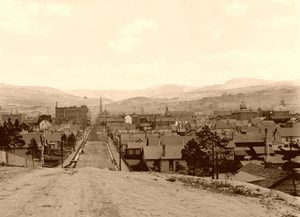 Leadville, Colorado by William Henry Jackson, 1901