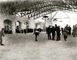 Ice Palace Skating Rink, Leadville, Colorado 1895