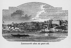 Leavenworth, Kansas in 1860.