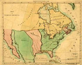 Map Of Louisiana Territory.The Louisiana Purchase Legends Of America