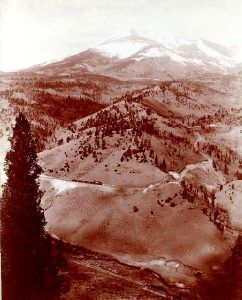 Marshall Pass in 1880, photo by William Henry Jackson