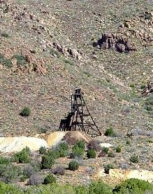 Mineral Park, Arizona Headframe