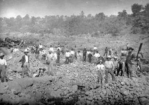 Miners in Hangtown, 1849