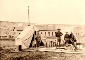 Officers' Quarters at Fort Defiance, Arizona