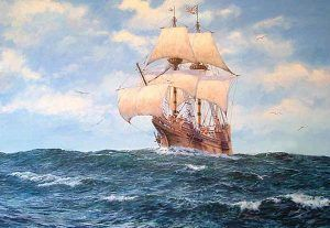 Ship from England called Anne