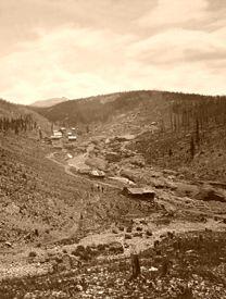 Oro City, near Leadville, William Henry Jackson