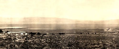 Owens Lake, Inyo County, California, 1911