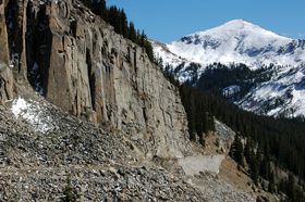 Palisades, Alpine Tunnel, Colorado today, by Reletta Clumsky