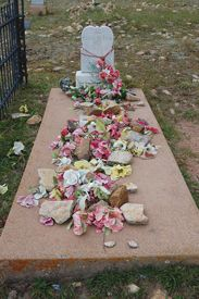 Pearl de Vere's Grave, Cripple Creek, Colorado