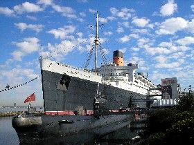 Queen Mary Hotel, Longbeach, California by Kathy Weiser