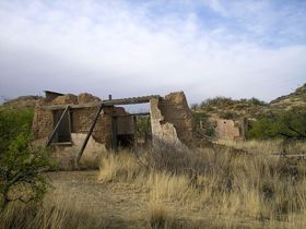 Ruins of Ruby, Arizona Mercantile, Kathy Weiser
