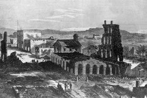 Ruins of Lawrence, Kansas, 1863