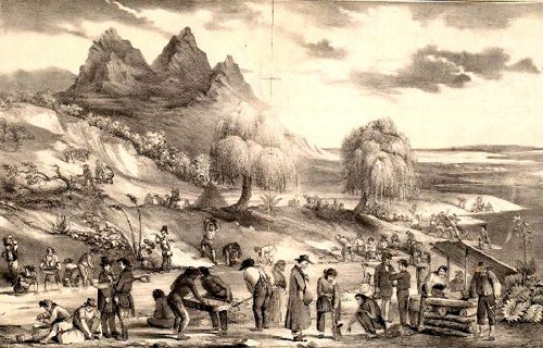 Sacramento Mining District in the 1850s