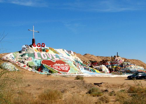 Salvation Mountain, Niland, California by Carol Highsmith