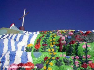 Salvation Mountain by Carol Highsmith.