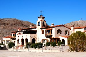 Scotty's Castle, Death Valley, California, by Kathy Weiser-Alexander.