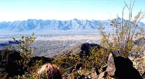 Sierra Estrella Mountain Range, Arizona