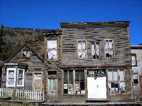 Stark Home and Store, St. Elmo, Colorado