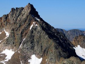 Sunlight Peak from Jagged Mountain, photograph by Steve Hoffmeyer, courtesy Fourteener World.