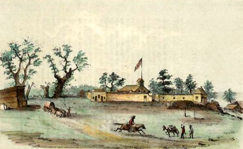 Sutters Fort, 1849