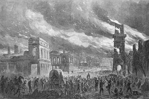 Burning of Columbia, South Carolina