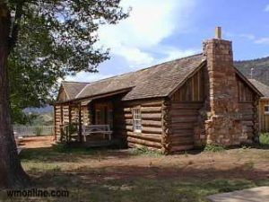 The first Commanding Officer's quarters was constructed in the spring of 1871, courtesy White Mountain Online